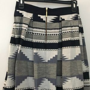 closet london Skirts - Aztec print midi skirt - pleated with pockets